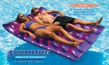 NEW Swimline Inflatable Two Person Mattress Kids Adults Pool Beach Float