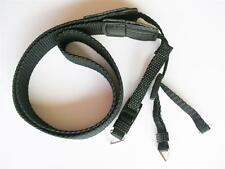Black Webbing Camera Binocular Strap Narrow Strap