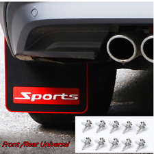 Universal Car Front /Rear Black Rubber Flaps Mudguards Fender Splash Guards 2Pcs