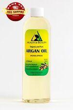 ARGAN OIL REFINED ORGANIC MOROCCAN COLD PRESSED PREMIUM HAIR OIL 100% PURE 36 OZ