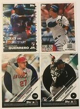 2019 Topps MLB Sticker Collection #1-#236 (You Pick)