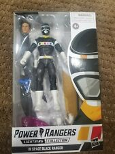 """Power Rangers Lightning Collection In Space Black Ranger 6"""" Action Figure"""
