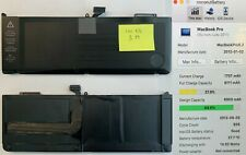 """4x LOT / Genuine Battery A1382 For Apple MacBook Pro 15"""" Unibody A1286 2011 2012"""