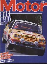 November Motor Sports Magazines