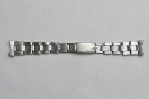1960s Rolex Riveted Bracelet 19mm Endlinks