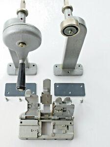 Meopta 16mm Filmumroller Filmumspuler Filmrückspulgerät + Filmklebepresse