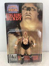 King Kong Bundy 1998 WWF Figures Toy Co Legends of Wrestling Blood Splattered MO