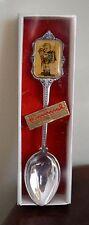 "Vintage Hummel  ""The Little Scholar"" ARS Silverplated Spoon 1980-1984"