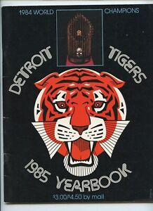 1985 Detroit Tigers Yearbook 1984 World Series Champs Morris Trammell Whitaker