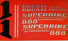 DUCATI 888 SP6 MODEL  PAINTWORK DECAL KIT