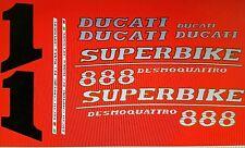DUCATI 888 SP6 MODEL  PAINTWORK DECAL KIT