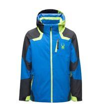 Spyder Leader Ski Jacket - Boys - 14, Old Glory