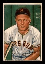 CLYDE McCULLOUGH 52 BOWMAN 1952 NO 99 P/F+  21156