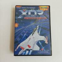 XDR X-Dazedly-Ray MegaDrive MD Genesis Sega Used Japan Shooter Boxed Tested