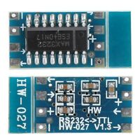 10pcs MCU Mini RS232 to TTL Converter for Arduino MAX3232 Adapter Module Board