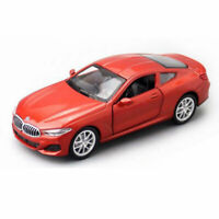 1:44 BMW M850i Coupe Model Car Alloy Diecast Gift Toy Vehicle Pull Back Red Kids