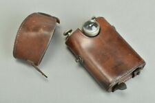 British Army Officers' WW1 Belt-Mounted Leather Cased Orilux French Torch. ALX