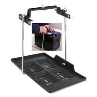 Metall Boot Kfz Batterie Halter Halterung Batterie-Box Befestigung 35,5x20cm NEU