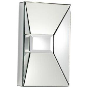 Cyan Design Pentallica Rectangle Mirror, Clear - 06381