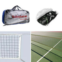 Rete da Pallavolo per Outdoor Indoor Spiaggia Volleyball Net con Storage Bag