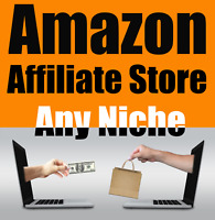 Ready Made Website Amazon Affiliate Automated Store Any Niche Hosting Free SSL