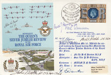 AD30c Queen's Silver Jubilee Review of the RAF Signed Neil Cameron plus 5 B of B