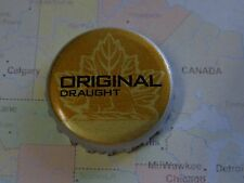 BEER Bottle Crown Cap ~ Sleeman Brewing & Malting Co. (Sapporo) Original Draught
