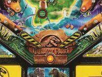 Distressed Caution Tape Flipper Bat Topper MODs for Stern's Jurassic Park