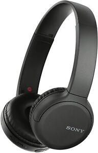 SONY WH-CH510 Wireless Bluetooth Headphones 35 Hours Battery Hands Free - Black