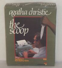 "Agatha Christie VCR Mystery Game - ""The Scoop"" by Spinnaker"