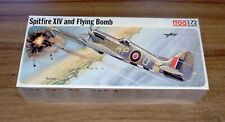 1974 Frog 1/72 scale Spitfire XIV and V-1 Flying Bomb (F194)