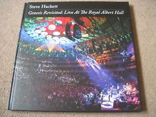 STEVE HACKETT Genesis Revisited: Royal Albert Hall 2 x CD 2 x DVD & Blu Ray BOOK
