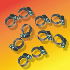 Hose Clamps Pkg of 10, Slotted Hex Head, Metal