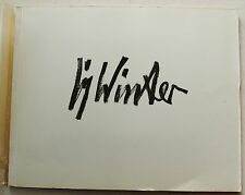 Fritz WINTER 12 Farbtafeln Marbach Verlag Bern 1951
