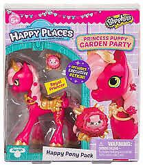 Shopkins - Happy Places Season 4 Royal Prancer Doll - Princess Puppy Garden P...