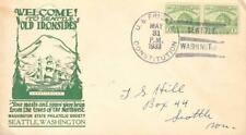 US Naval Ship Frigate Constitution 1933 Seattle Washington Cacheted Event Cover