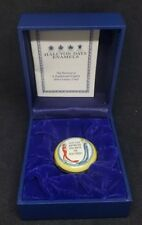 Halycon Days Enamels Pill Box You Can Never Be Too Rich Or Too Thin 3Cm