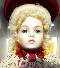 "Beautiful! Large 25"" Antique French Bru Luis Nichole Reproduction Doll All Orig"