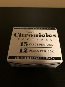 2020 panini chronicles NFL box of 12 value packs ship within Canada read descrip