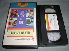 The Secret of Life: Birth, Sex, and Death 1993 WGBH FFH 4336 VHS Video Tape RARE