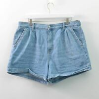 American Eagle Mom Short Denim Blue Jean Shorts Womens 16