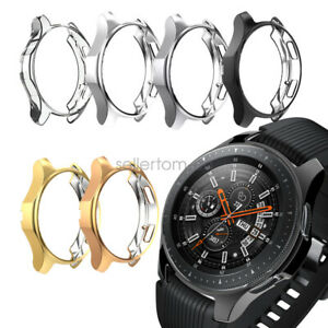 2Pack TPU Plated Protective Bumper Case Cover For Samsung Galaxy Watch 42mm 46mm