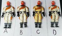 "G.I. Joe 1987 Vintage Cobra Ice Viper v1 Driver 3¾"" Action Figure *You Choose*"