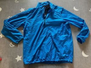 GOLF Nike HyperAdapt Shield Jacket 726407 Rain Wind Blue Mens Size Large