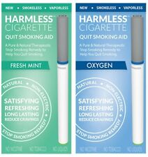 Harmless Cigarette Quit Smoking Aid Variety 2 Pack Oxygen and Fresh Mint