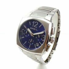 BREIL WATCH ROD Blue Men's CHRONOGRAPH Watch TW0754 Stainless Steel QZE5