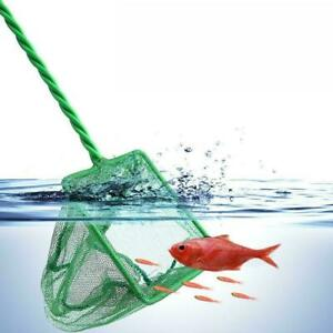 8inch Fishing Catching Net Small Goldfish Pond Care Fish Tank Aquarium S1B1