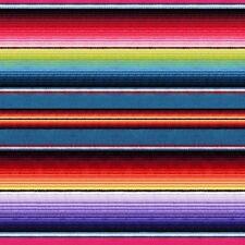 1 Yard Fiesta by Elizabeth's Studios Mexican Blanket Stripe 100 Cotton Fabric