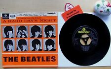 BEATLES Extracts From The Album A Hard Days Night★Any Time At All★GEP 8924★EP