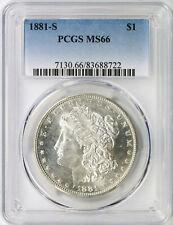1881-S $1 Morgan Dollar PCGS MS66